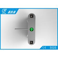 Quality Industrial 3 Arm Stainless Steel Turnstiles Security Pedestrian Access Control for sale