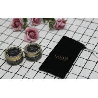 China Black Label Scented Tin Candles Essential Oils Handmade Soy Wax Candle wholesale