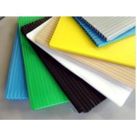 White / Black / Blue 4mm corrugated plastic sign board Coroplast Sheets