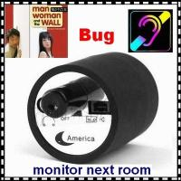 China Mini Next Room Ear Amplifier Through Wall Door Audio Listening Spy Surveillance Bug wholesale