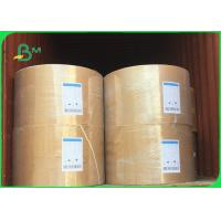 China Good Water Absorption Cardboard Paper Roll / 230g - 450g Absorbent Blotter Paper For Card wholesale