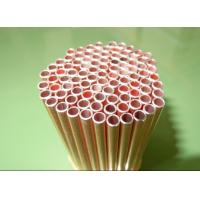 China Cold Drawn 4*0.6mm CU / Copper Coated Bundy Tube GB/34020.1-2017 wholesale