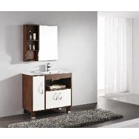 Buy cheap Solid Wood Bathroom Cabinet / Furniture / Vanity (MJ-042) from wholesalers