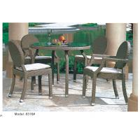 Quality rattan furniture dining set-8316 for sale