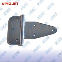 China 01210  Polished and electrophoresis stainless steel truck toolbox hinge wholesale