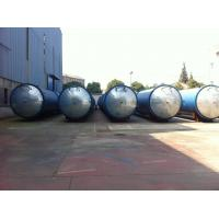 Quality Glass industry Wood Preservative Treatment , saturated steam Autoclave for sale