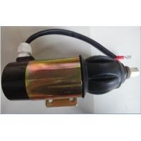 China 872826 1827650 12 Volt Stop Solenoid , Perkins Engine Diesel Generator Stop Solenoid wholesale