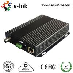 China 10 / 100M CCTV Fiber Optic Converter , CCTV To Ip Camera Ethernet Converter wholesale