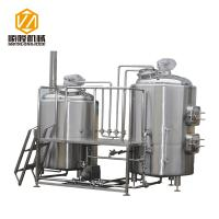 China Industrial Craft Beer Brewing Equipment 1000L Conical Fermenters Steam Heating wholesale