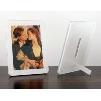 China acrylic 8x10 magnetic photo frame wholesale