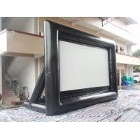 China Outdoor Inflatable Movie Screen 0.55mm PVC Tarpaulin Movie Screen on sale