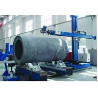 Quality Blue Vertical Horizontal Welding Manipulator Column and Boom with Motor Drive for sale
