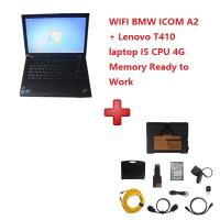 China WIFI BMW ICOM A2+B+C Diagnostic and Programming Tool 2017/12V with T410 Laptop Ready To Work wholesale