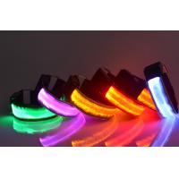 Buy cheap Custom Wrist Band Reflective Led Armband Slap Bracelet For Running Cycling, from wholesalers
