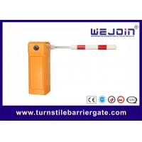 China High Speed Parking Barrier Gate For Highway toll , car park barriers on sale