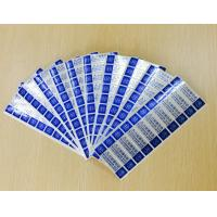 China Custom Printing Tamper Evident Security Labels With Gloss Lamination wholesale