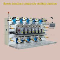 China 3000 * 2000 * 2200mm Rotary Label Die Cutting Machine With Slitting Function wholesale