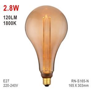 Buy cheap S165 Bulb, Decorative Lamp, E27 LED Bulb, Fashionable Glass Bulb, Energy Saving from wholesalers