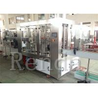 China Fruit Juice Packaging SUS304 Hot Juice Filling Machine 8000 BPH Electric Driven on sale