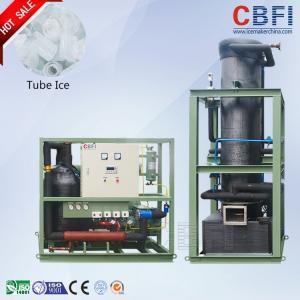 China Bitzer Semi-Hermetic Piston Type Ice Tube Machine Tube Ice Making Machine wholesale