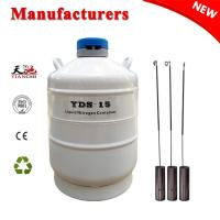 China TianChi 15L Liquid Nitrogen Container YDS-15-50 Dewar Vessels Price on sale