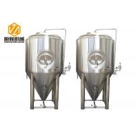 Buy cheap 1000L Fermentation Tank Beer Brewing Equipment / Microbrewery Equipment from wholesalers