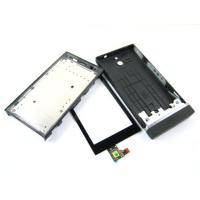 China for Sony Xperia U ST25i black   Touch Screen Digitizer and Cover Housing wholesale