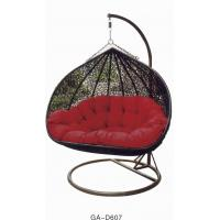 Quality outdoor rattan hanging chair--1607 for sale