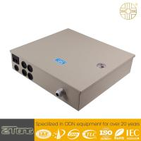 China Durable Fiber Optic Distribution Box With Cable Fixing Device / Fiber Splice Tray wholesale