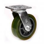 "China 4"" heavy duty rubber wheel caster wholesale"