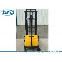 China Semi Electric Hydraulic Pallet Jack , Hydraulic Pallet Stacker DC Motor Power Source wholesale