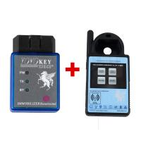 China Mini ND900 Transponder Key Programmer Plus Toyo Key OBD II Key Pro Support 4C 4D 46 G H Chips wholesale