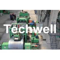 China Metal Cutting / Steel Metal Cut To Length Machine Line With Uncoiler Leveling Cutting wholesale