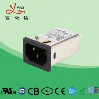 China 1A-15A EMI Noise Filter For Health Care Equipment CE Certification wholesale