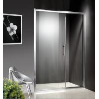 China 1200-1800X1950mm Replacement Sliding Glass Shower Doors , Shower Cubicle Doors With Double Wheels wholesale