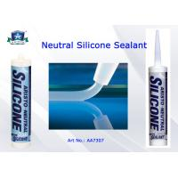China Low Modulus Neutral Cure Silicone Sealant One Part Clear / White / Black / Gray Custom Color on sale