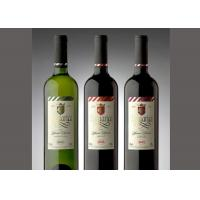 China Glass Bottle Wine Label Stickers , Hot Stamping Personalized Labels For Wine Bottles wholesale