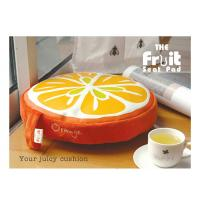 China Colorful Kitchen Chair Cushion / Memory Foam Floor Cushion Pads , Round on sale