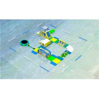 China CE ROHS Approved Floating Inflatable Water Park Trampoline Park For Water Play wholesale
