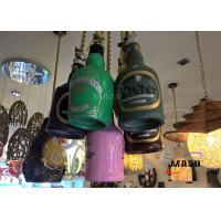 China Maso Bar Chinese Style Decorative Seven Lamps residential Pendant Lamp Resin Material colorful Painted E27 Lamp holder on sale