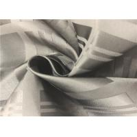 Outdoor Dobby Coated Polyester Fabric , Light Resistance Ripstop Polyester Fabric