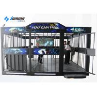 China Team Work 9D Virtual Reality Shooting Simulator Multiplayer For Theme Park wholesale