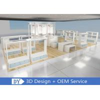 China OEM Morden Retail Shop Wooden Lacquer Kid Clothing Display Racks With OEM Color wholesale