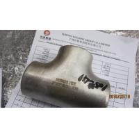China ASTM B366 Inconel 625 Tee Butt Weld Fittings ANSI B16.9 , Penetrant Inspection wholesale