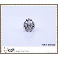 Quality New Fashion #8 / 10g 316l Stainless Steel Death's - Head Ring H-JK0030 for sale