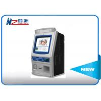 Buy cheap Wall mounted self service kiosk in hospital with fingerprint reader from wholesalers