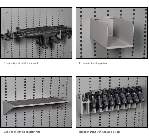 gun cabinet storage cabinet