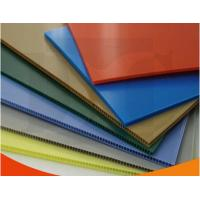 China Colorful Polypropylene Corrugated Plastic Sheets exhibition board wholesale