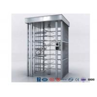 Quality Deluxe Automatic Full height Turnstile  Pedestrian System Parking Facilities Rotating Gates for sale