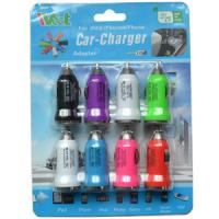 China Iphone / Ipad USB Car Chargers 5V 1A , Portable Mobile Charger Adapter wholesale